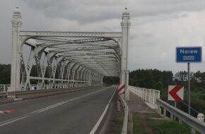 Ryboły Dwa przęsła z fordońskiego mostu