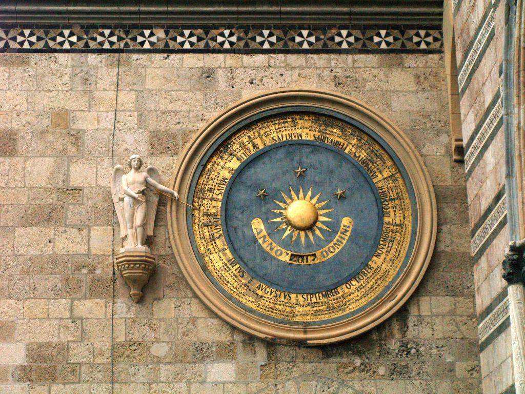 Mesyna. Dzwonnica z astronomicznym zegarem