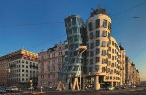 Praga Czeska stolica z lotu ptaka