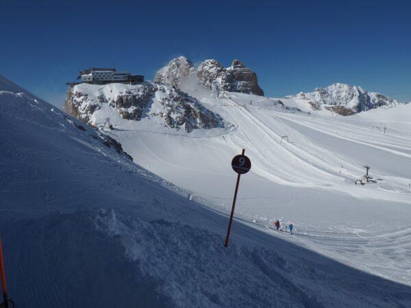 Dachstein Na lodowiec od styryjskiej strony