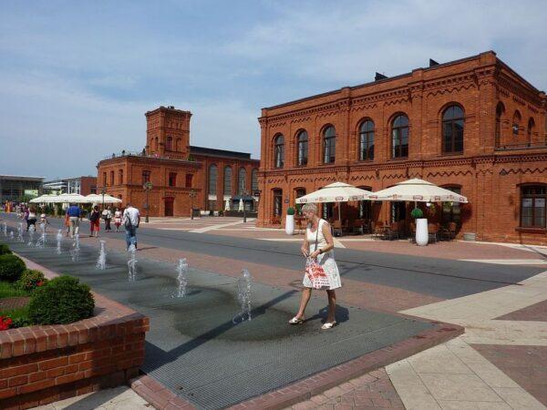 Łódź. Manufaktura, czyli dziś w dawnej fabryce