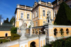 Nové Hrády Rokokowy pałac ma nowy blask
