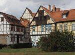 Quedlinburg. Kolorowe domki i romańskie mury
