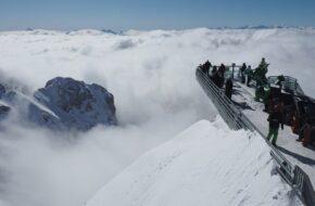 Dachstein Droga donikąd i spacer w głąb lodowca
