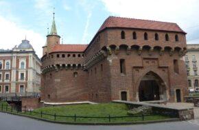Kraków Mury obronne Starego Miasta