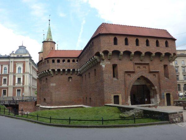 Kraków. Mury obronne Starego Miasta