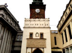 Pardubice. Widoki z wieży Zielonej Bramy