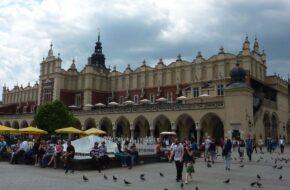 Kraków Sukiennice, bo tu sprzedawano sukno