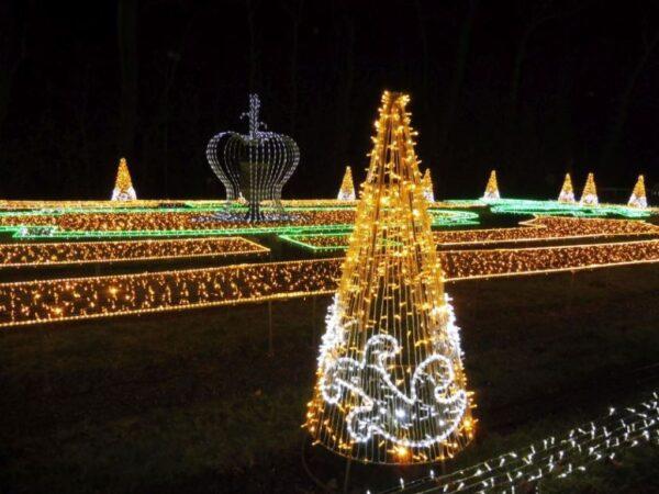 Warszawa Królewski Ogród Światła w Wilanowie