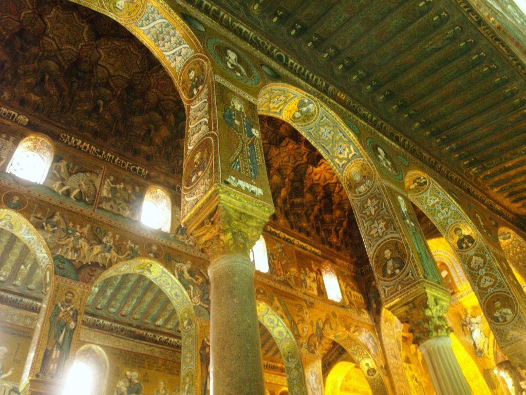 Palermo. Kaplica pałacowa króla Rogera