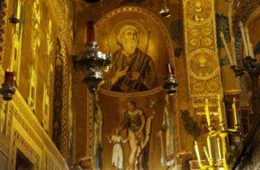 Palermo Kaplica pałacowa króla Rogera