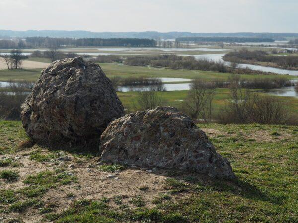 Góra Strękowa. Ślady bitwy pod Wizną nad rozlewiskiem
