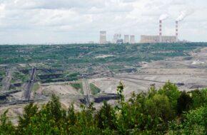 Żłobnica Nad wielka dziurą kopalni Bełchatów