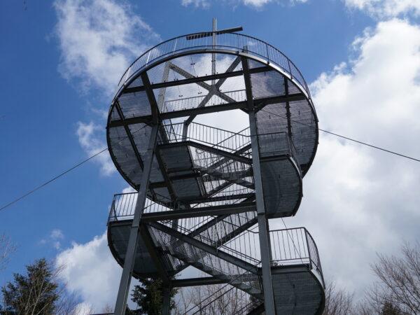 Jaworze Wieża się buja, ale co za widoki!