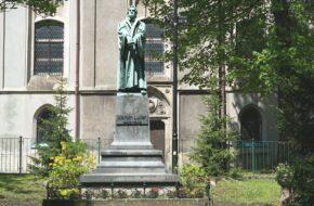 Bielsko-Biała Jedyny w Polsce pomnik Marcina Lutra