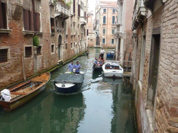 Wenecja Miasto zbudowane na morzu