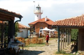 Burgas Skalista wysepka Święta Anastazja