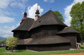 Łodygowice Kościół piękny ale zamknięty niestety