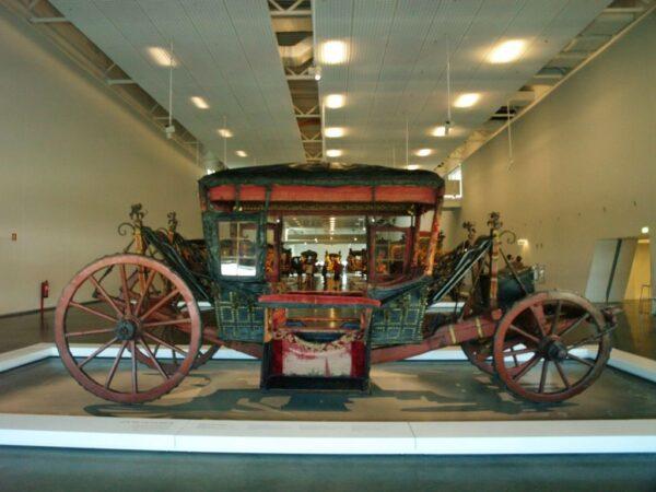 Lizbona Narodowe Muzeum Powozów